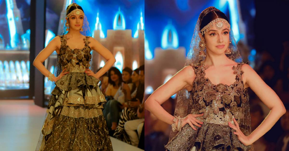 The Stunning Divya Khosla Kumar Walked For A Final Show At Fashion Week In Delhi!
