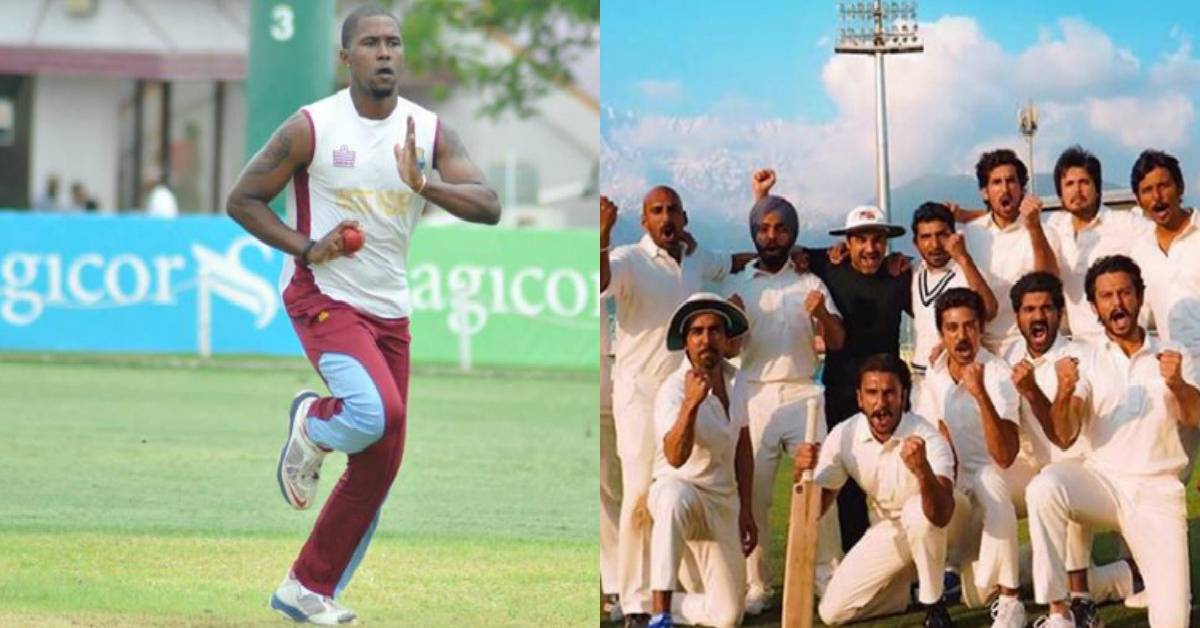 West Indies Fast Bowler Malcolm Marshall's Son Mali Marshall Joins '83!