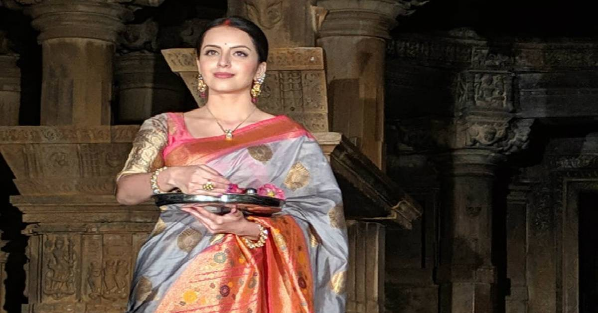 Janhvi Mittal Aka Shrenu Parikh Launched Her Show Ek Bhram Sarvagun Sampanna At A 1000 Years Old Heritage Saas - Bahu Temple In Udaipur!