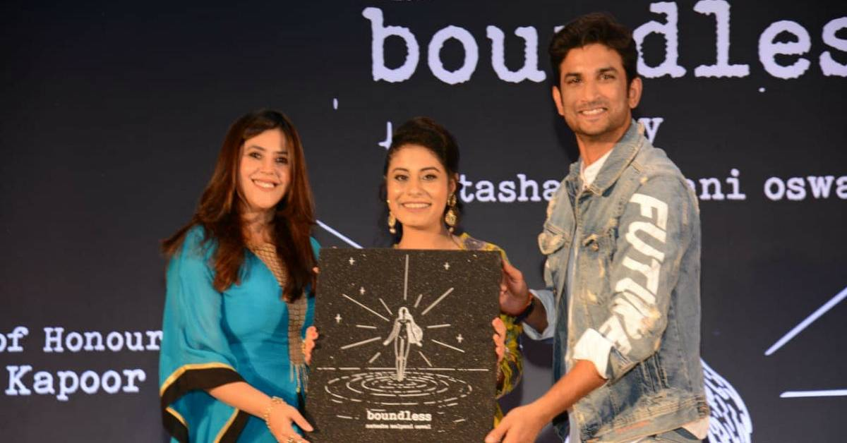 Here's How Sushant Singh Rajput Felt A Sense Of Belonging From Natasha Malpani's Book Boundless!