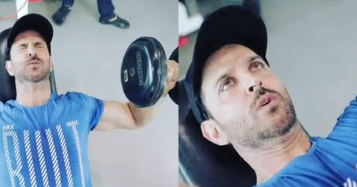 Hrithik Roshan Delivers Another Jaw-Dropping Intense Workout Video!