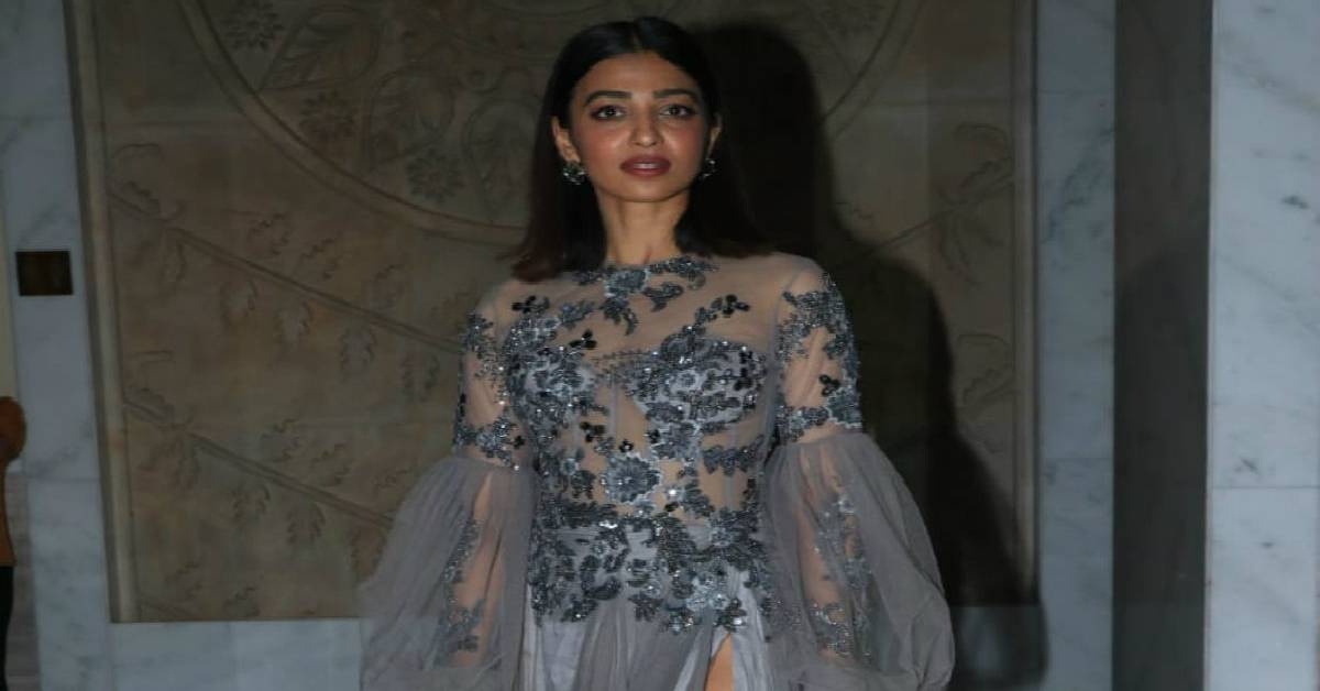 Indie Queen, Radhika Apte Looks Ethereal In A Tulle Slit Gown At An Awards Night!