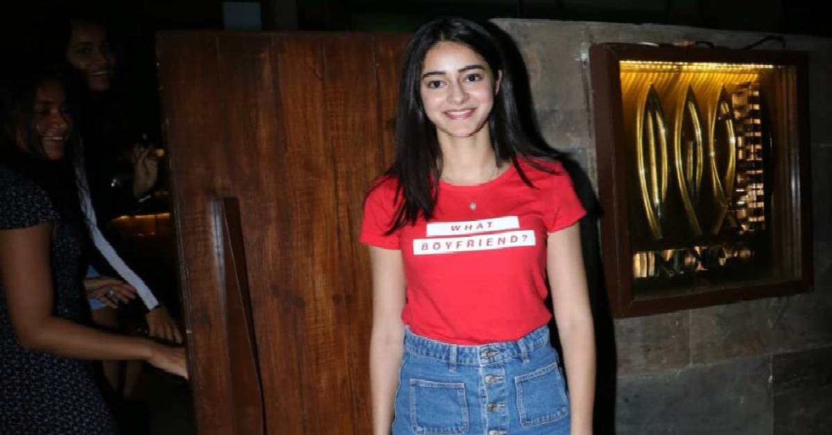Ananya Panday Celebrates The Success Of Student Of The Year 2 With Her Friends!