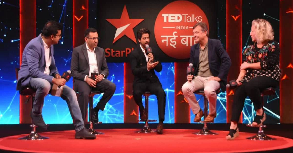 Shah Rukh Khan & TED Talks India Take An Important Pledge Of 'No Plastic' At The Recent Show Launch!