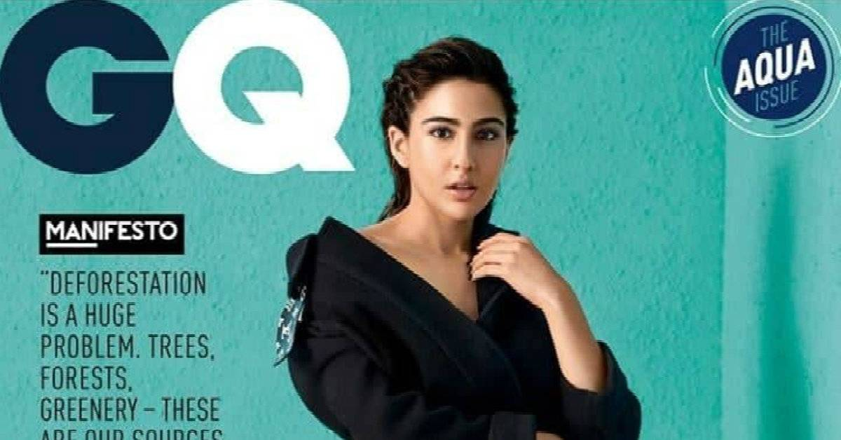 Sara Ali Khan Shines Bright On The Cover Of A Leading Magazine With The Title Of 'Breakthrough Talent Of The Year'!