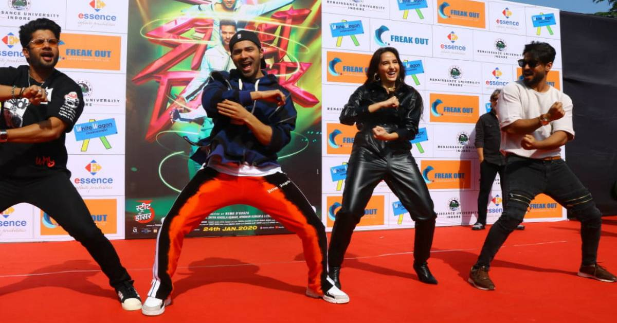 Team 'Street Dancer 3D' Takes Over Indore!